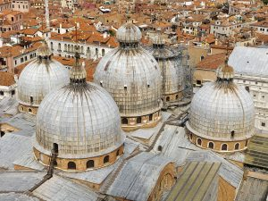 The rooftops of venice