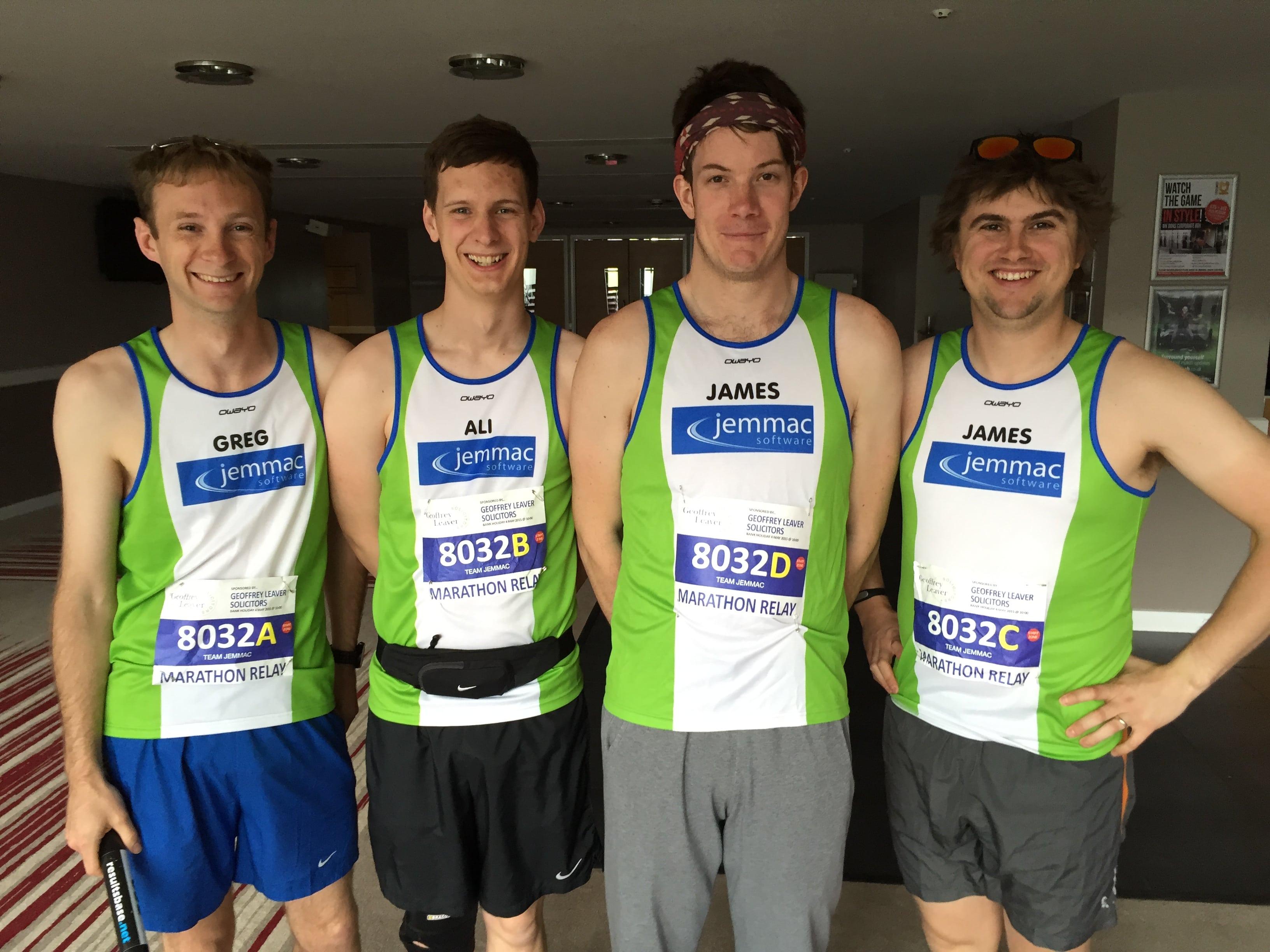 Marathon relay glory bid