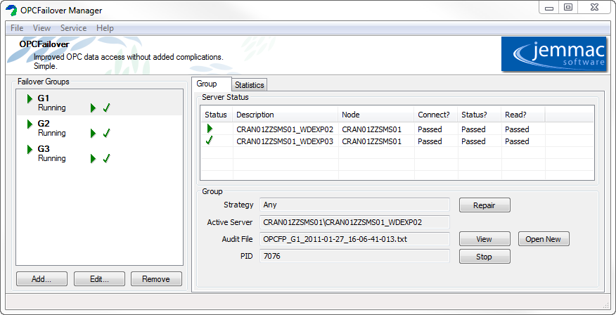 OPCFailover V2-1 released